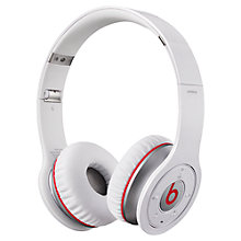 Buy Beats by Dr. Dre On-Ear Wireless Headphones with Mic, White Online at johnlewis.com