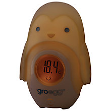 Buy Grobag Egg Baby Thermometer Shell, Percy the Penguin Online at johnlewis.com