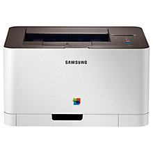Buy Samsung CLP-365 Colour Laser Printer + Adobe Photoshop Elements 12, Photo Editing Software Online at johnlewis.com