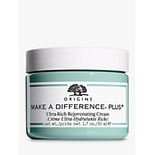 Buy Origins Make A Difference™ Plus+ Ultra-Rich Rejuvenating Cream, 50ml Online at johnlewis.com