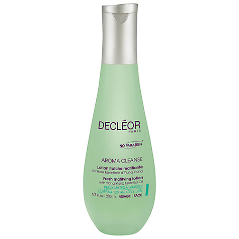 Buy Decléor Fresh Matifying Lotion with Ylang Ylang Essential Oil, 200ml Online at johnlewis.com