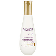 Buy Decléor Youth Cleansing Milk with Magnolia Essential Oil, 200ml Online at johnlewis.com