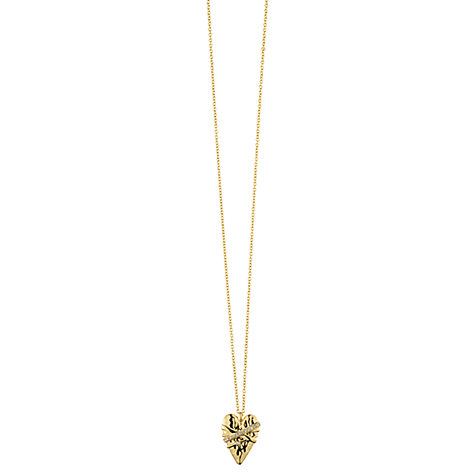 Buy Dyrberg/Kern Julietta Crystal Pendant Necklace Online at johnlewis.com
