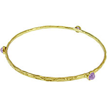 Buy Azuni Semi Precious Stone Stacking Bangle Online at johnlewis.com