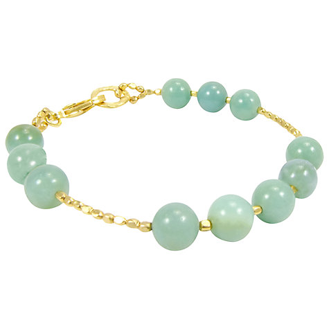 Buy Azuni Large Semi Precious Stone Beaded Bracelet Online at johnlewis.com