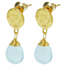 Buy Azuni Semi Precious Stone Drop Earrings Online at johnlewis.com