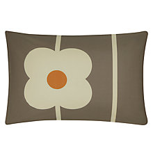 Buy Orla Kiely Abacus Standard Pillowcases, Pair, Mushroom Online at johnlewis.com