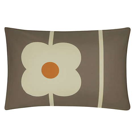 Buy Orla Kiely Abacus Bedding, Mushroom Online at johnlewis.com