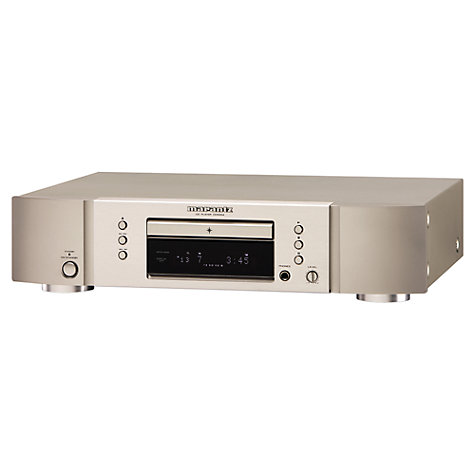 Buy Marantz CD5004 CD Player, Silver Online at johnlewis.com
