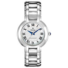 Buy Bulova 96L168 Women's Precisionist Bracelet Watch, Silver Online at johnlewis.com