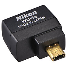Buy Nikon WU-1A Wireless Adapter for Nikon D3200 Online at johnlewis.com