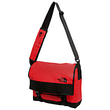 Buy The North Face Base Camp Messenger Bag, Red Online at johnlewis.com