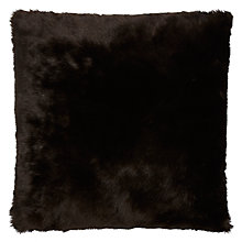 Buy Fur Chocolate Floor Cushions Online at johnlewis.com