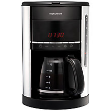 Buy Morphy Richards Accents Filter Coffee Machine Online at johnlewis.com