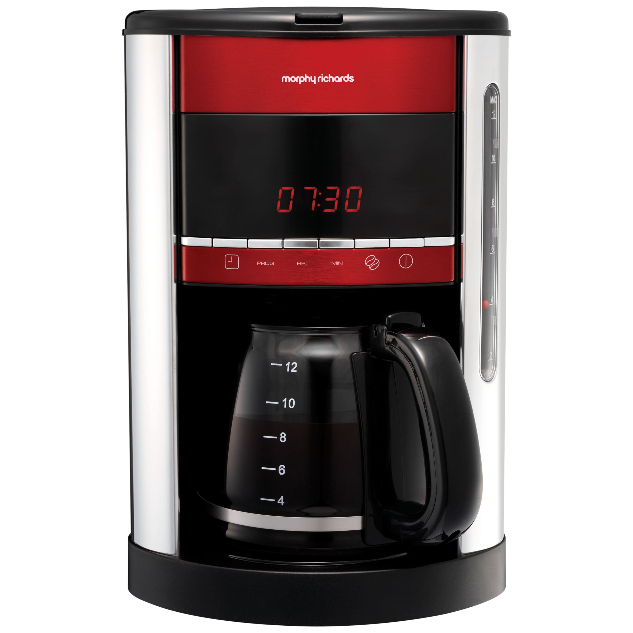 John Lewis Filter Coffee Maker Review : Buy Morphy Richards Accents Filter Coffee Machine, Red John Lewis