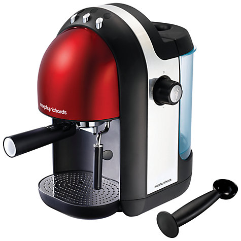 Buy Morphy Richards Meno Espresso Coffee Machine Online at johnlewis.com
