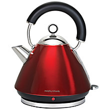 Buy Morphy Richards Accents 43772 Kettle, Red Online at johnlewis.com