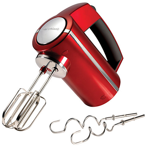 Buy Morphy Richards Accents Hand Mixer, Red Online at johnlewis.com
