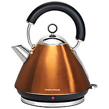 Buy Morphy Richards Accents Kettle and 4-Slice Toaster, Copper Online at johnlewis.com