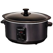 Buy Morphy Richards Sear and Stew Slow Cooker, Black Online at johnlewis.com