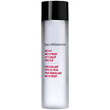 Buy bareMinerals Waterproof Eye Makeup Remover Online at johnlewis.com