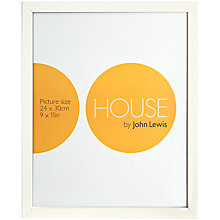 "Buy House by John Lewis Photo Frame, 9 x 11"" (24 x 30cm) Online at johnlewis.com"