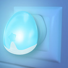 Buy Pabobo Night Light, Blue Online at johnlewis.com