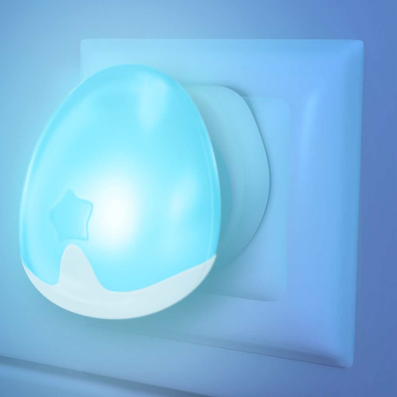 Pabobo Pabobo Night Light, Blue