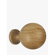 Buy John Lewis Solid Oak Ball Finial, Dia.35mm Online at johnlewis.com