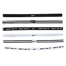 Buy Nike Wide Sports Assorted Headbands, Pack of 6 Online at johnlewis.com