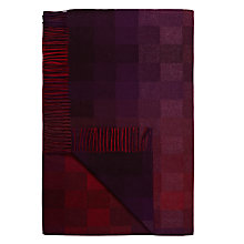 Buy Avoca Spectrum Throw, Berry Online at johnlewis.com