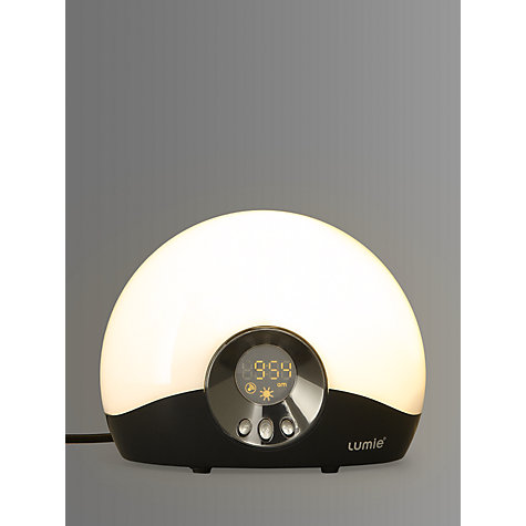 Buy Lumie Bodyclock Go 75 Wake Up to Daylight SAD Light Online at johnlewis.com