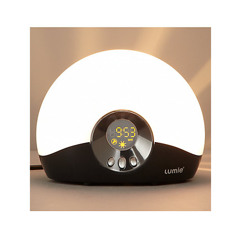 Buy Lumie Bodyclock Go 75 Wake Up to Daylight Light Online at johnlewis.com