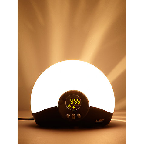 Buy Lumie Bodyclock Go 75 Wake-up Light Online at johnlewis.com