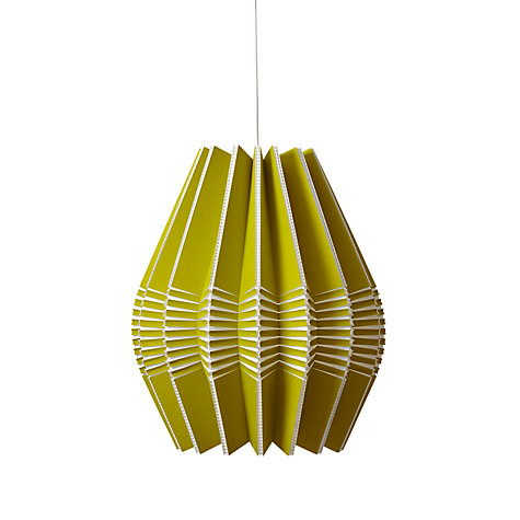 Buy Ciara O'Neil Spine-drop Pendant, Olive Online at johnlewis.com