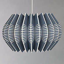 Buy Ciara O'Neil Spine-round Pendant, Slate Online at johnlewis.com