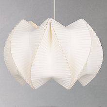 Buy Ciara O'Neil Spine-vault Pendant, White Online at johnlewis.com