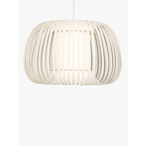 Buy John Lewis Harmony Ribbon Pendant, Natural, Small Online at johnlewis.com
