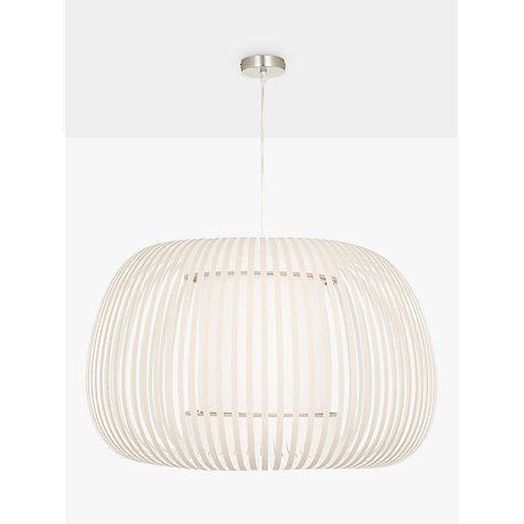 Buy John Lewis Harmony Ribbon Pendant, Natural, Large Online at johnlewis.com