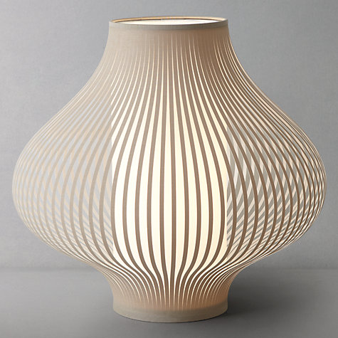 Buy John Lewis Harmony Ribboned Table Lamp, Natural, Small Online at johnlewis.com