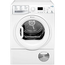 Buy Hotpoint TCFG87C6P Condenser Tumble Dryer, 8kg Load, C Energy Rating, White Online at johnlewis.com