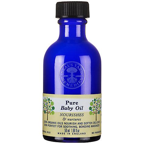 Buy Neal's Yard Pure Baby Oil, 50ml Online at johnlewis.com