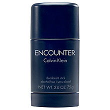 Buy Calvin Klein Encounter Deodorant Stick, 75g Online at johnlewis.com