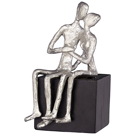 Buy John Lewis Kissing Couple Sculpture Online at johnlewis.com