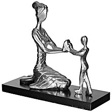 Buy John Lewis Mother Playing With Child Sculpture, Small Online at johnlewis.com