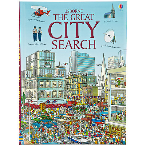 Buy Usborne The Great City Search Book Online at johnlewis.com