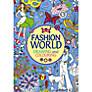 Fashion World: Drawing and Colouring Book