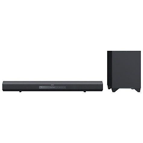 Buy Sony HT-CT260H 2.1 Bluetooth Sound Bar with Wireless Subwoofer Online at johnlewis.com