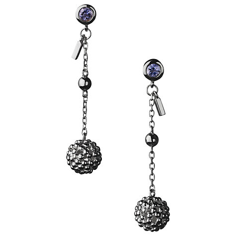 Buy Links of London Effervescence Bubble Drop Earrings, Silver Online at johnlewis.com