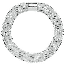 Buy Links of London Sterling Silver Effervescence Star XL Bangle, Silver Online at johnlewis.com